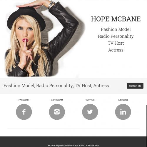 Hope McBane